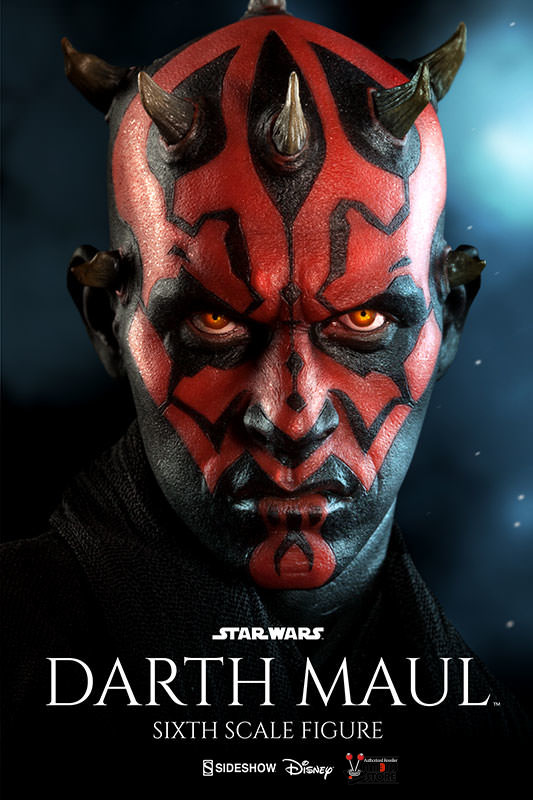 Vamers Store – Sideshow Collectibles – VS-SSC-6SF-SWDMDN – Star Wars Episode I The Phantm Menace – Dart Maul Duel on Naboo Limited Edition Sixth Scale Collectible – 01