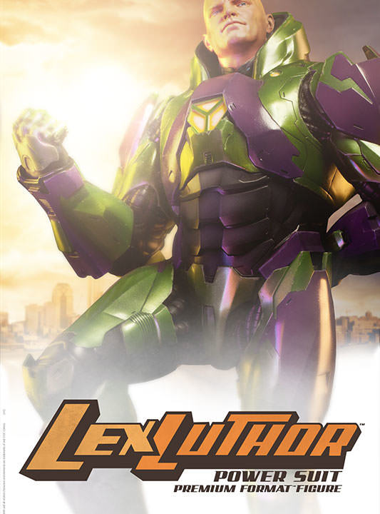 Vamers Store – Sideshow Collectibles – VS-SSC-PFF-LLPS – Lex Luthor in Power Suit Premium Format Figure – 01