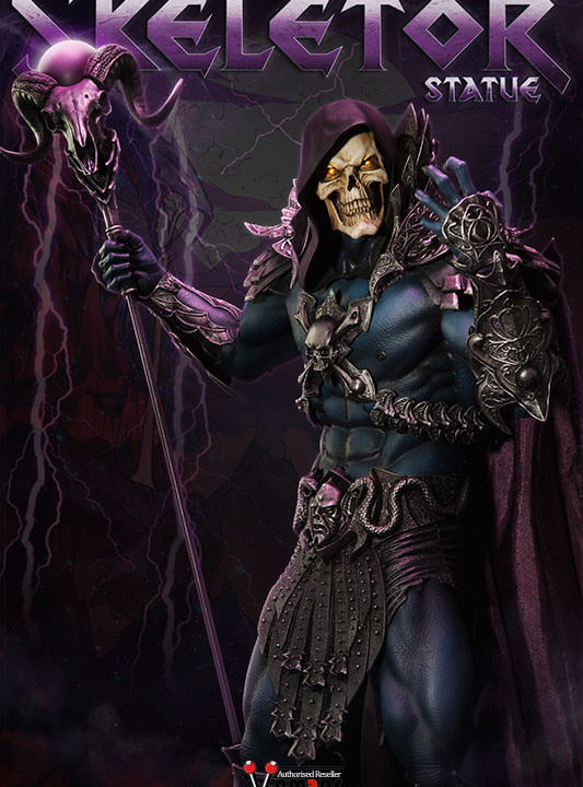 Vamers Store – Sideshow Collectibles – VS-SSC-STU-MOTUHMSK – Masters of the Universe – Skeletor Statue – 01