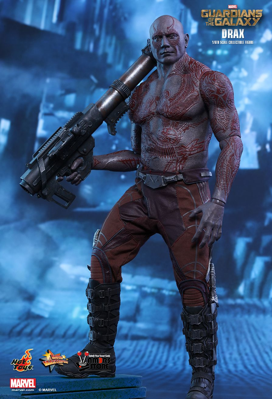 Hot Toys Drax From Guardians Of The Galaxy Vamers Store
