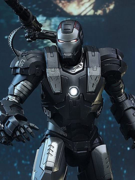 Vamers Store - Hot Toys - MMS331D13 - Iron Man 2 - Diecast War Machine - 00