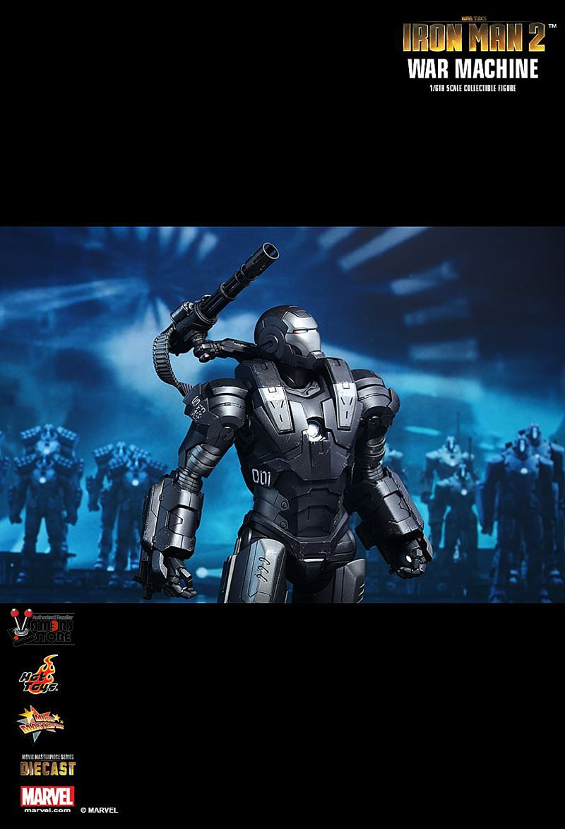 toys diecast war machine from iron man 2 vamers store