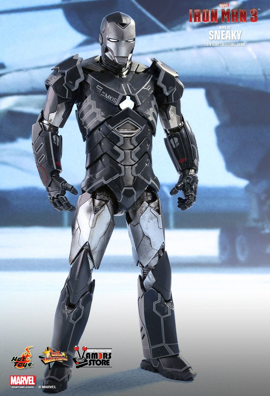 Iron Man 3 Toys ~ Hot toys iron man mark xv sneaky from vamers