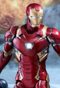 Hot Toys Diecast Iron Man Mark XLVI from Captain America: Civil War