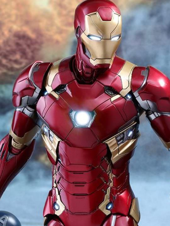 Vamers Store - Hot Toys - MMS353D16 - Captain America Civil War - Iron Man Mark XLVI Diecast - 00