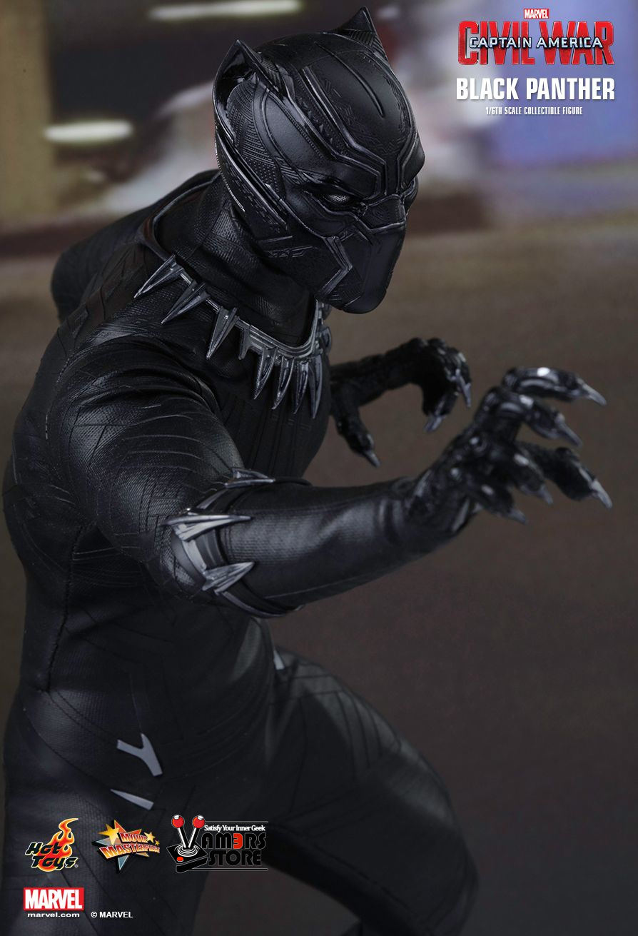 5ea707de65f Hot Toys Black Panther Collectible from Captain America  Civil War