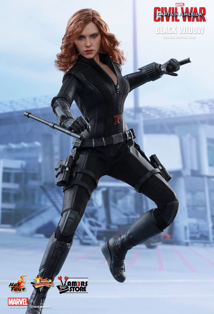Hot Toys Black Widow from Captain America: Civil War