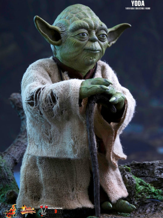 Vamers Store - Hot Toys - MMS369 - Disney's Star Wars Episode V The Empire Strikes Back - Yoda Sixth Scale Collectible Figure - 02