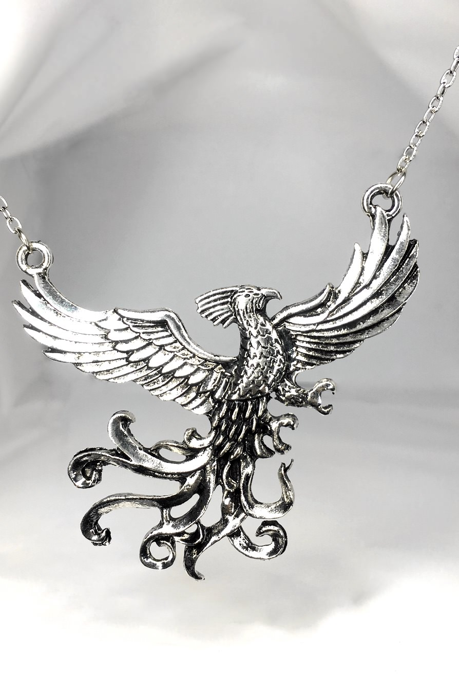 Fawkes the phoenix necklace vamers store fawkes the phoenix aloadofball Images
