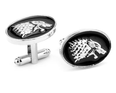 House Stark Cufflinks inspired by Game of Thrones