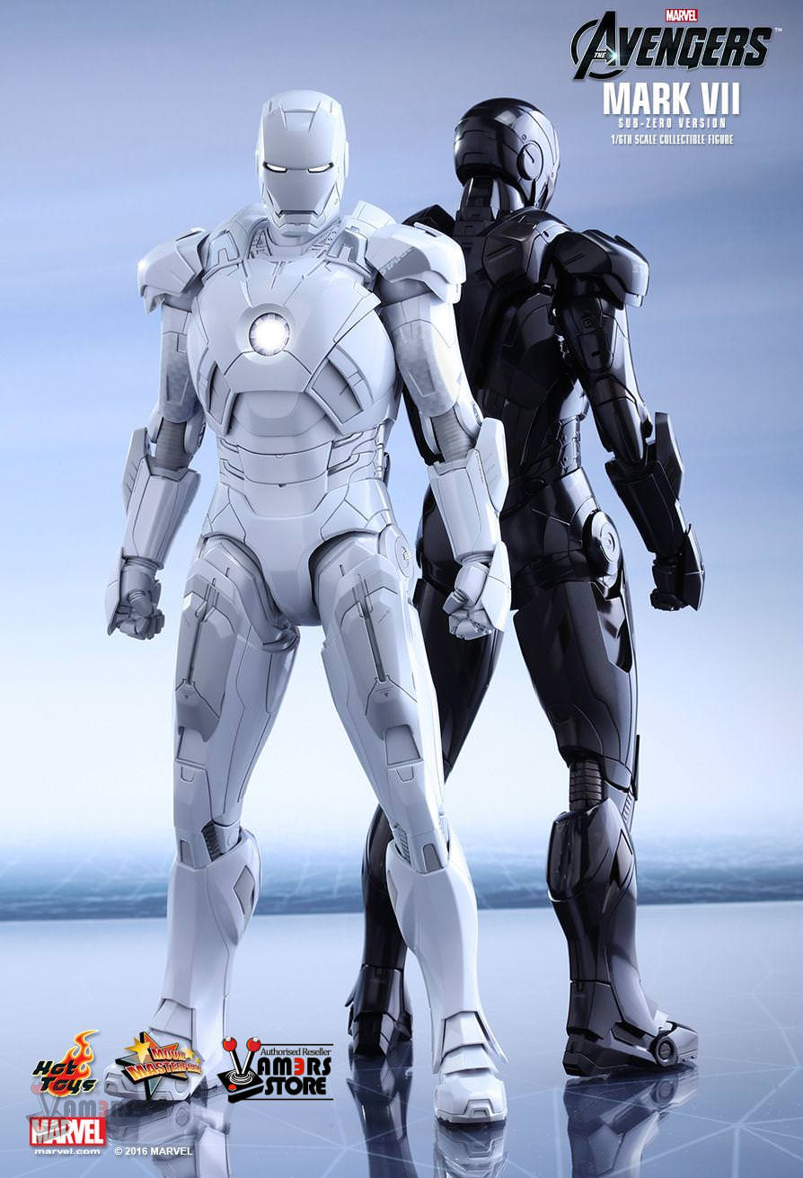 Hot Toys Iron Man Mark Vii Sub Zero Version Vamers Store