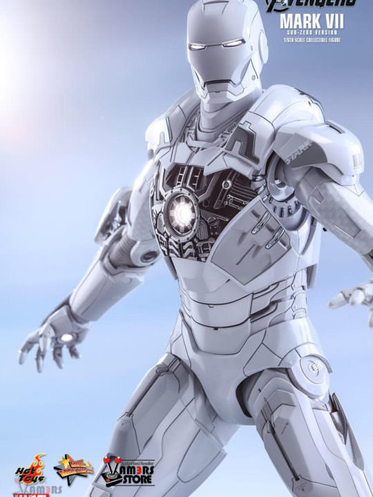 Vamers Store - Hot Toys - MMS329 - The Avengers - Iron Man Mark VIi (Sub-Zero Version) - 09