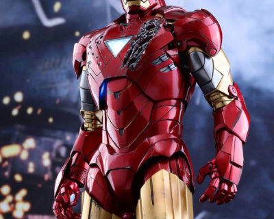 Hot Toys Diecast Iron Man Mark VI from The Avengers
