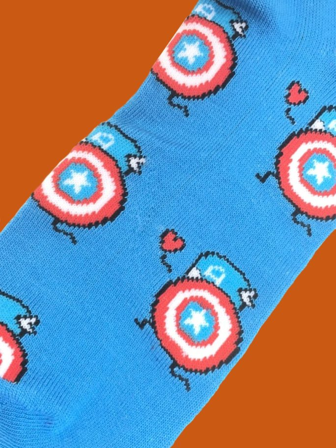 vamers-store-apparel-socks-dc-comics-captain-america-caricature-socks-acrylic-polyester-spandex-blend-02