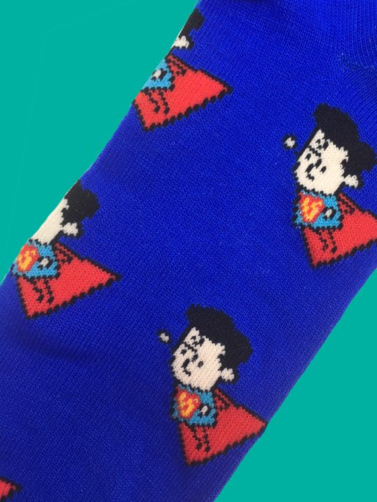 vamers-store-apparel-socks-dc-comics-superman-caricature-socks-acrylic-polyester-spandex-blend-01