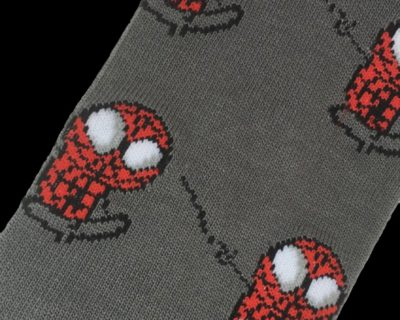 Spider-Man Caricature Socks inspired by Marvel Comics