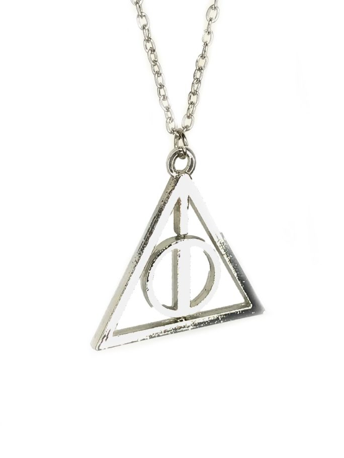 Deathly Hallows Symbol Necklace Inspired By Harry Potter Vamers Store
