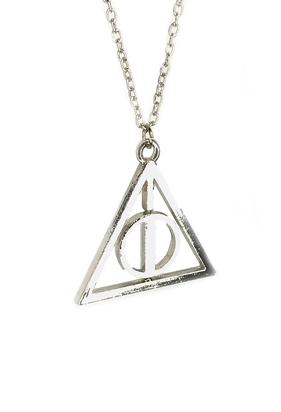 Deathly hallows symbol necklace inspired by harry potter vamers deathly hallows symbol biocorpaavc