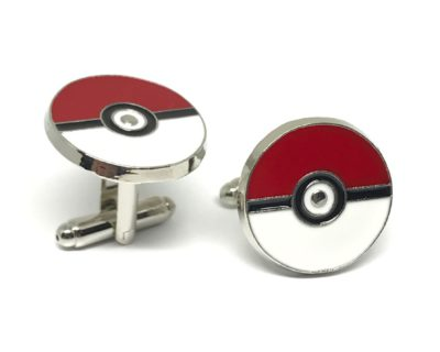 Poké Ball Cufflinks inspired by Pokémon