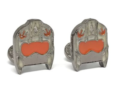 Rebel Alliance Helmet Cufflinks Inspired by Star Wars