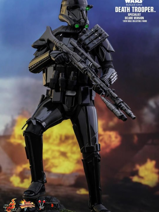 Vamers Store – Hot Toys – MMS399 – Disney's Star Wars Rogue One – Death Trooper Specialist (Deluxe) – 2