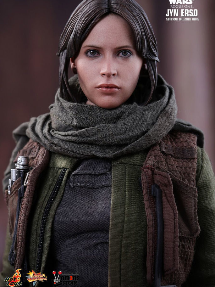 Vamers Store – Hot Toys – MMS404 – Disney's Star Wars Rogue One – Jyn Erso – 4
