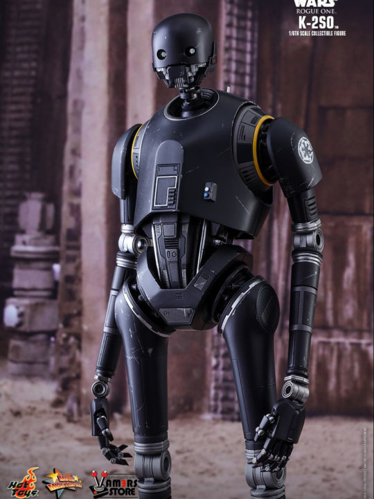 Vamers Store – Hot Toys – MMS406 – Disney's Star Wars Rogue One – K-2SO – 7