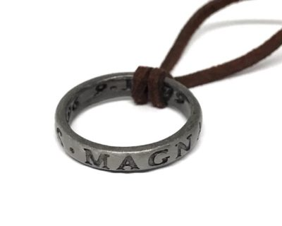 SIr Francis Drake Ring Necklace inspired by Uncharted