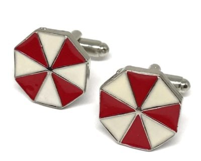 Umbrella Corporation Cufflinks Inspired by Resident Evil