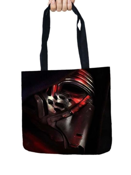 Vamers Store – Accessories – Tote Bags – VS-ACC-TB-SWKR – Star Wars Tote Bag with Kylo Ren Design – 01