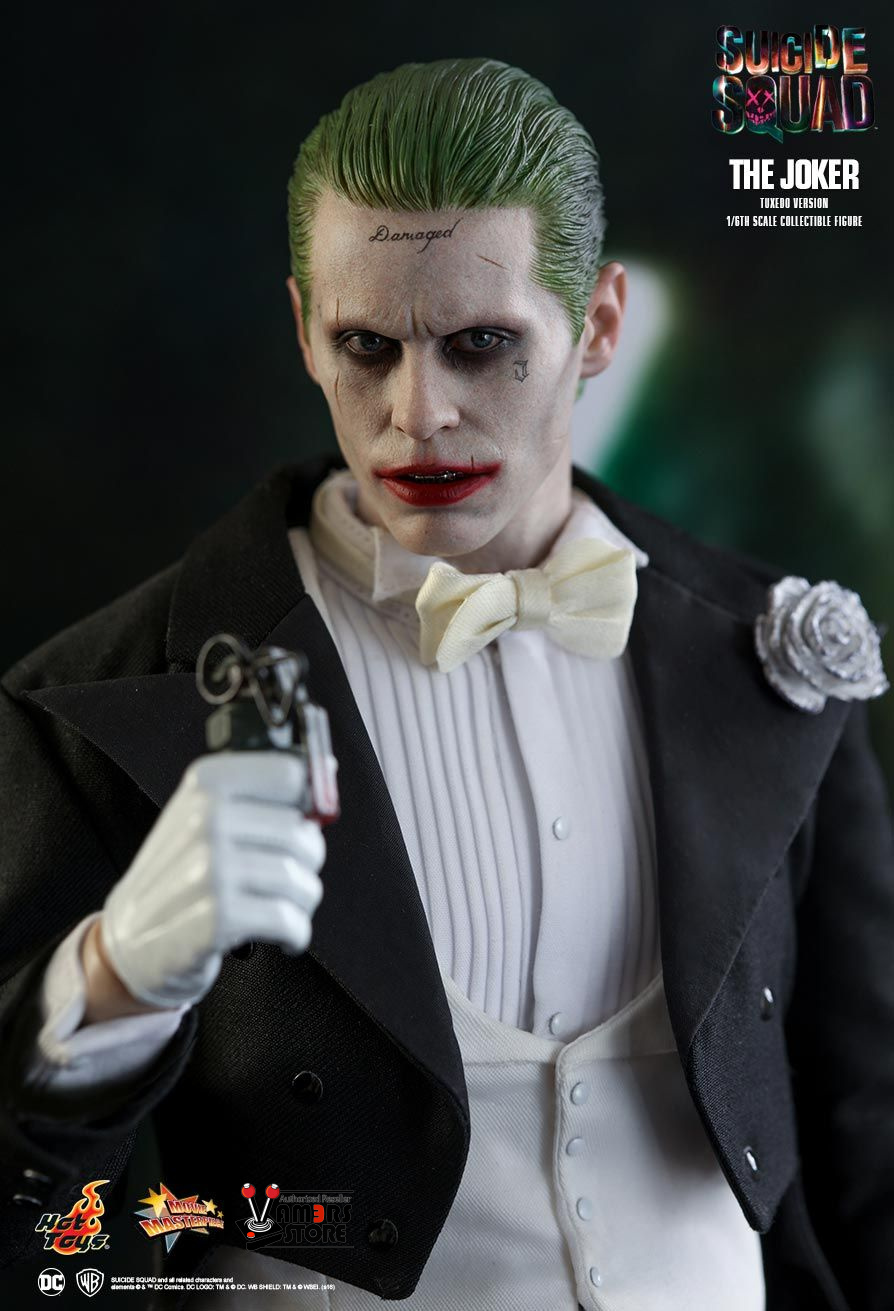 hot toys joker tuxedo version figure from suicide squad. Black Bedroom Furniture Sets. Home Design Ideas