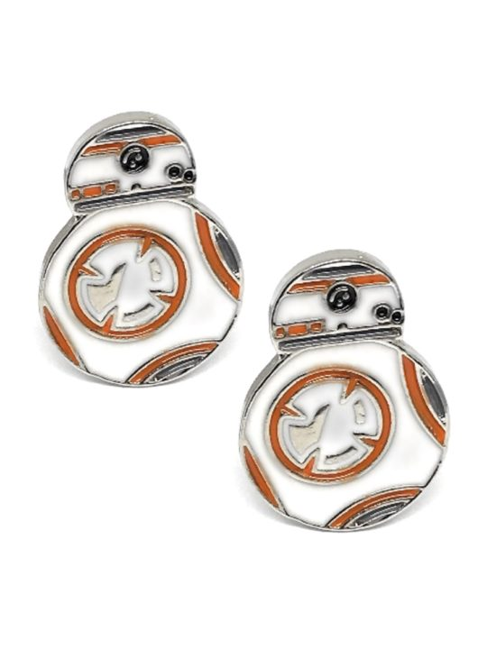 Vamers Store – Geek Chic – Accessories – Cufflinks – Star Wars Inspired BB-8 Cufflinks – VS-JWL-CUFF-SWBB8E – Main 01