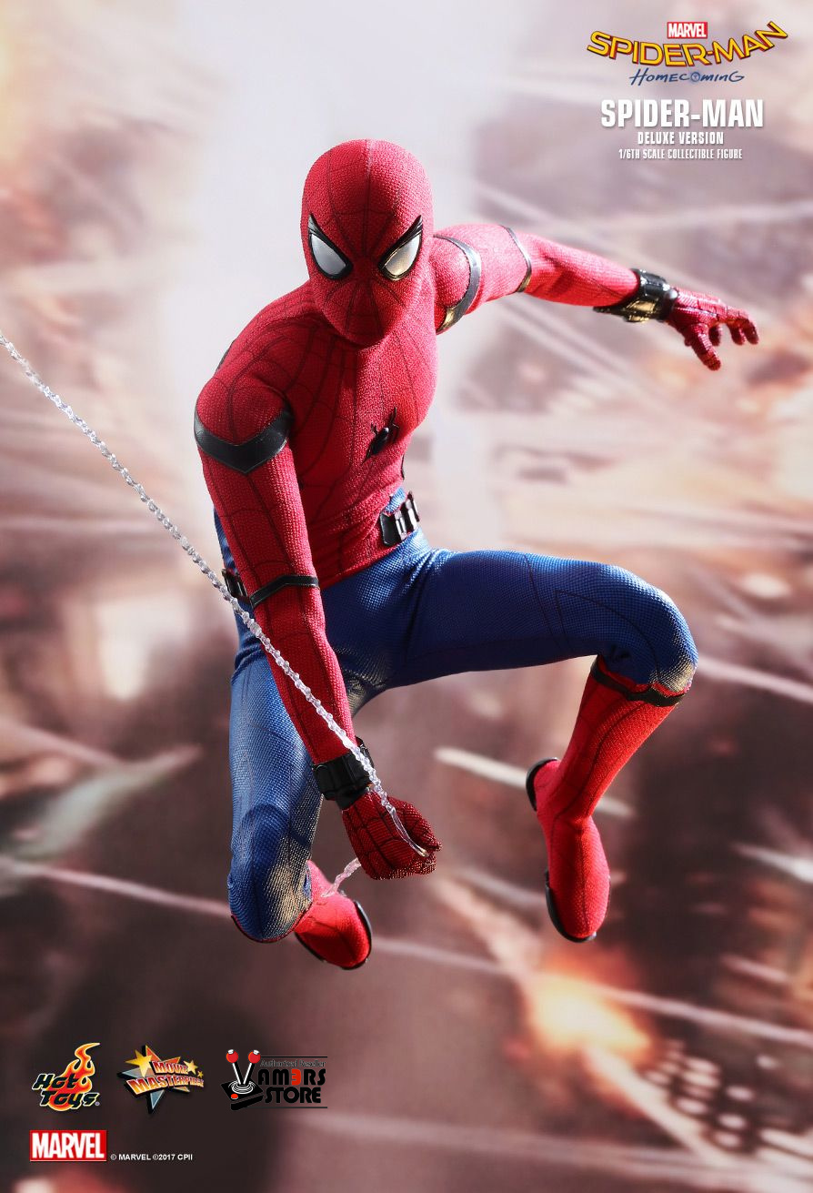 Homecoming Spider Man Toys : Hot toys spider man deluxe version from