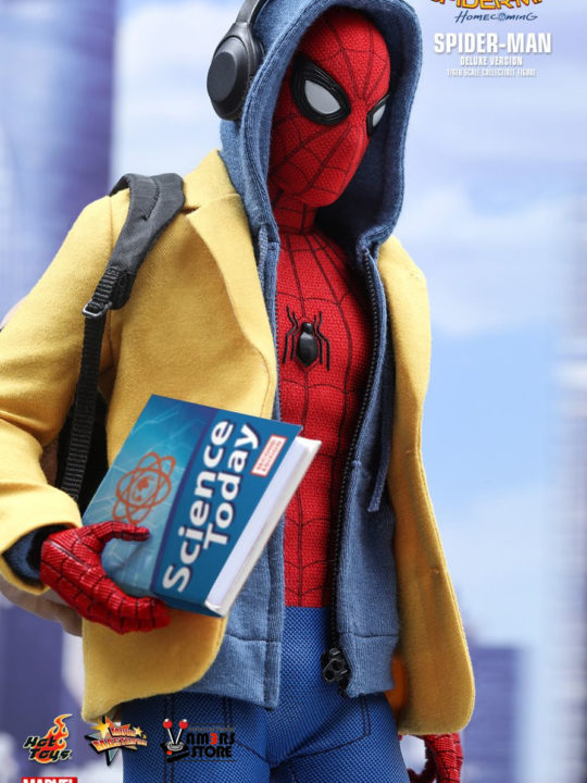 Vamers Store – Hot Toys – MMS426 – Marvel's Spider-Man Homecoming – Spider-Man (Deluxe Version) – 8