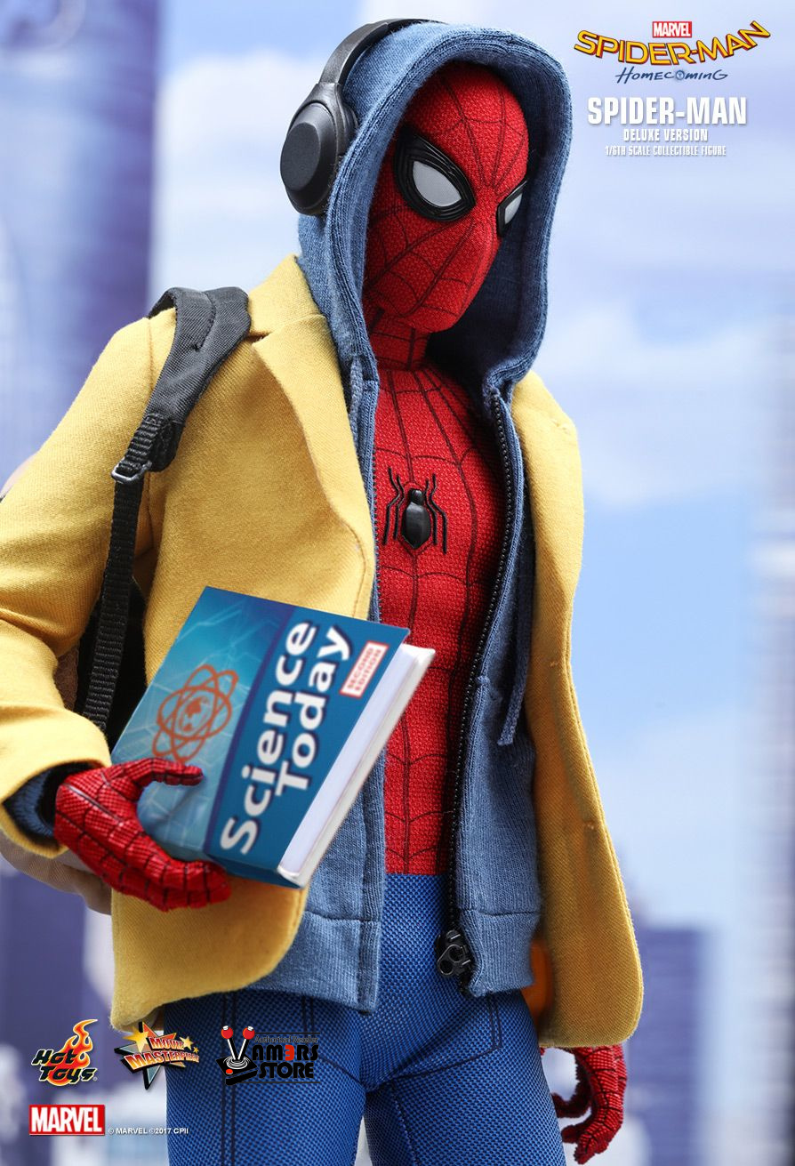 Spider Man Toys : Hot toys spider man deluxe version from