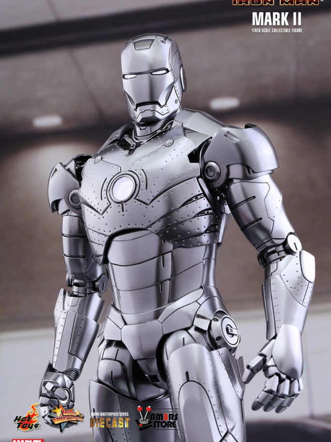 Vamers Store – Hot Toys – MMS312D14 – Iron Man – Diecast Iron Man Mark II (Special Edition) – 17