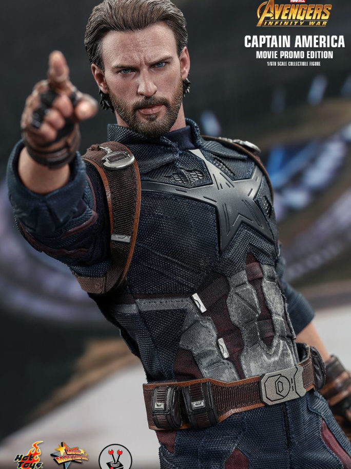 Vamers Store – Hot Toys – Avengers Infinity War – Captain America – MMS481 – Movie Promo Version – 5