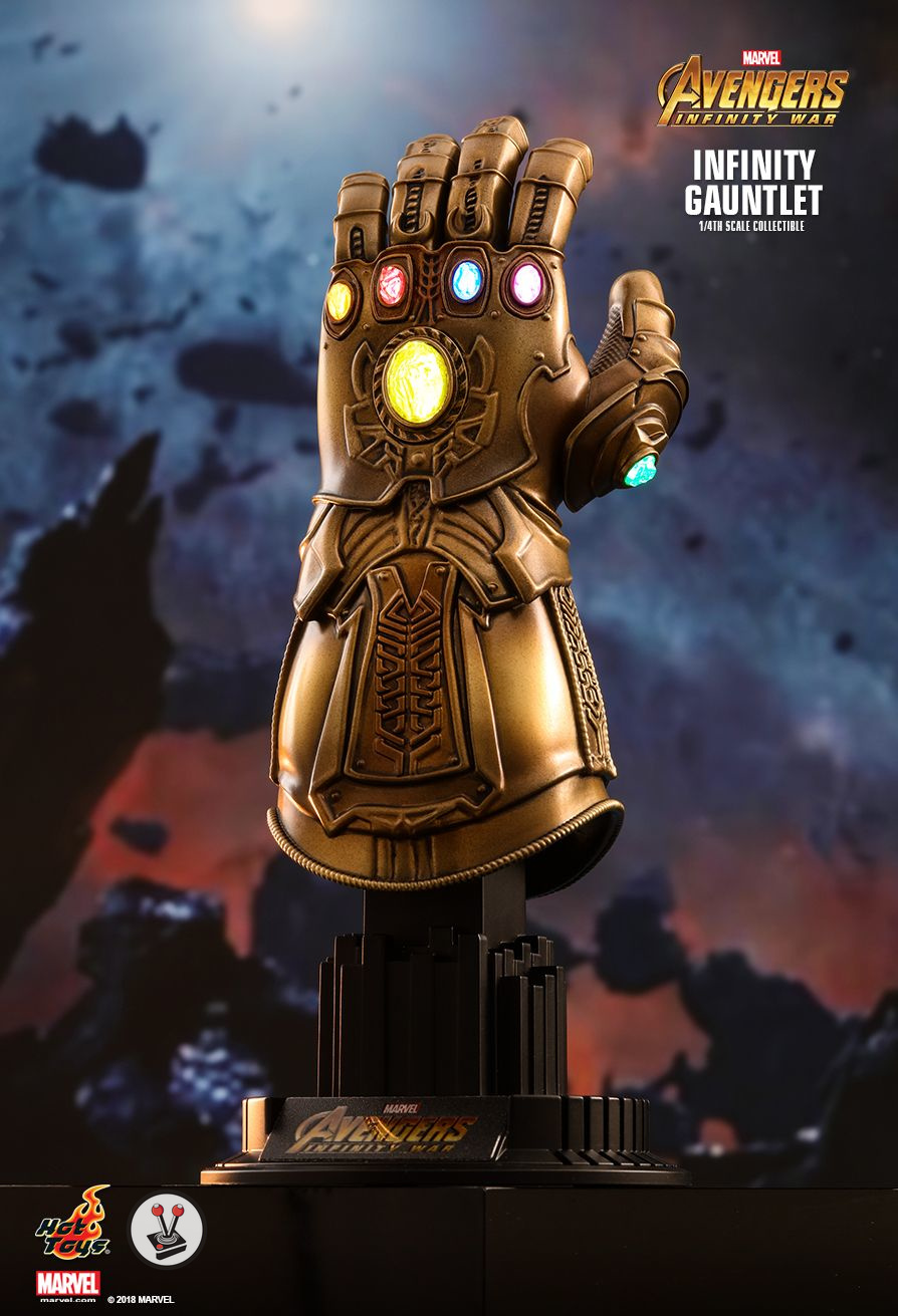 hot toys infinity gauntlet 1 4th scale collectible acs003. Black Bedroom Furniture Sets. Home Design Ideas