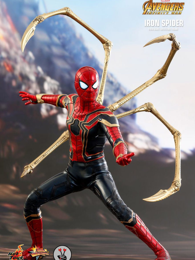 Vamers Store – Hot Toys – Avengers Infinity War – Iron Spider- MMS482 – 2