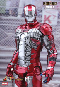 Hot Toys Diecast Iron Man Mark V (MMS400D18) from Iron Man 2