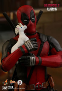 Hot Toys Deadpool (MMS490) from the blockbuster film Deadpool 2