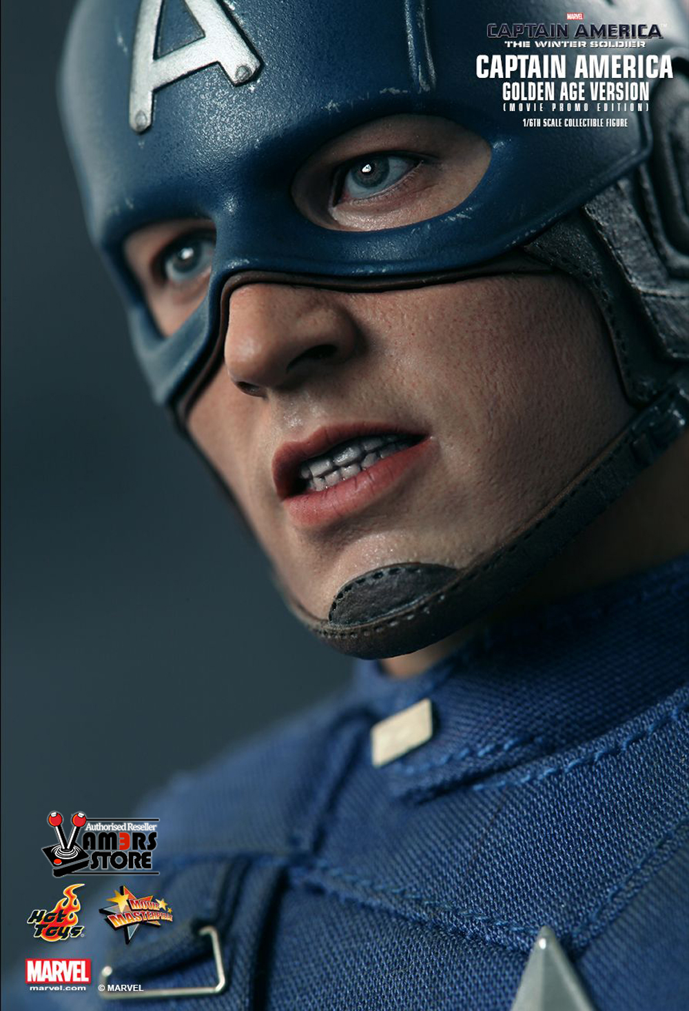 Hot Toys Captain America: The Winter Soldier Golden Age ...