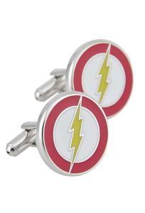 The Flash Lightning Symbol Cufflinks