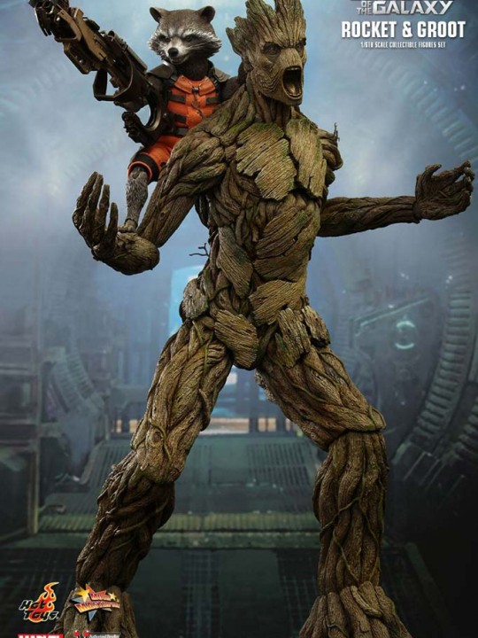 Vamers Store – Hot Toys – MMS254 – Guardians of the Galaxy – Rocket & Groot 01