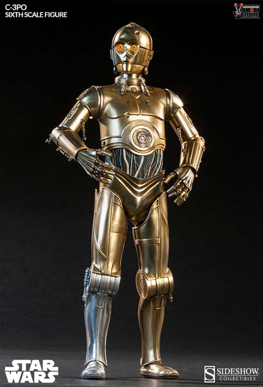 Sideshow Collectibles C 3PO Sixth Scale Figure Vamers Store