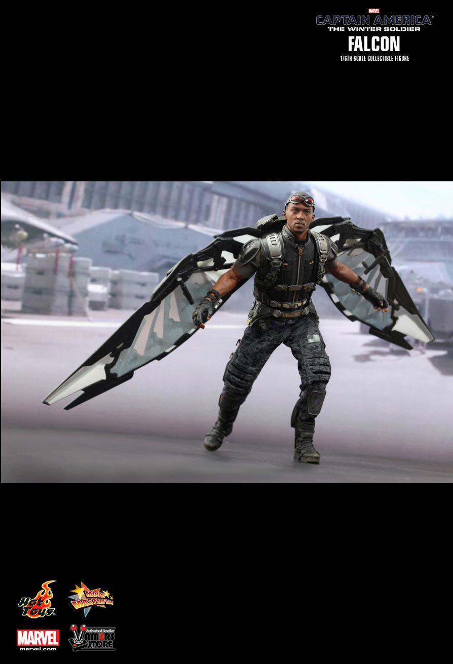 Hot Toys Falcon from Captain America: The Winter Soldier ...
