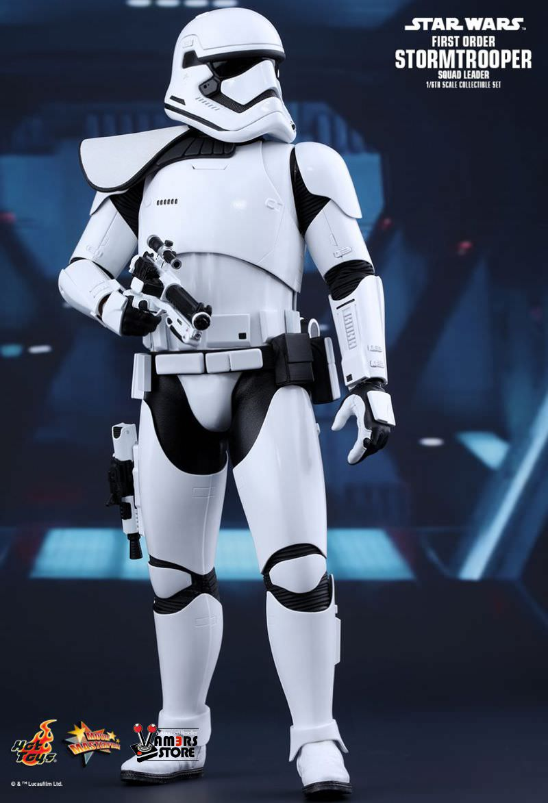hot toys star wars first order stormtrooper squad leader vamers store. Black Bedroom Furniture Sets. Home Design Ideas
