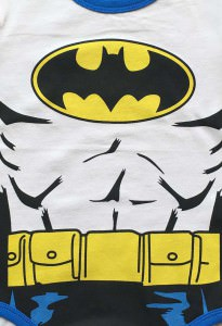 Batman Suit Baby Grow