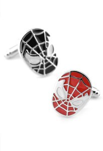 Spider-Man Cufflinks inspired by Marvel Comics