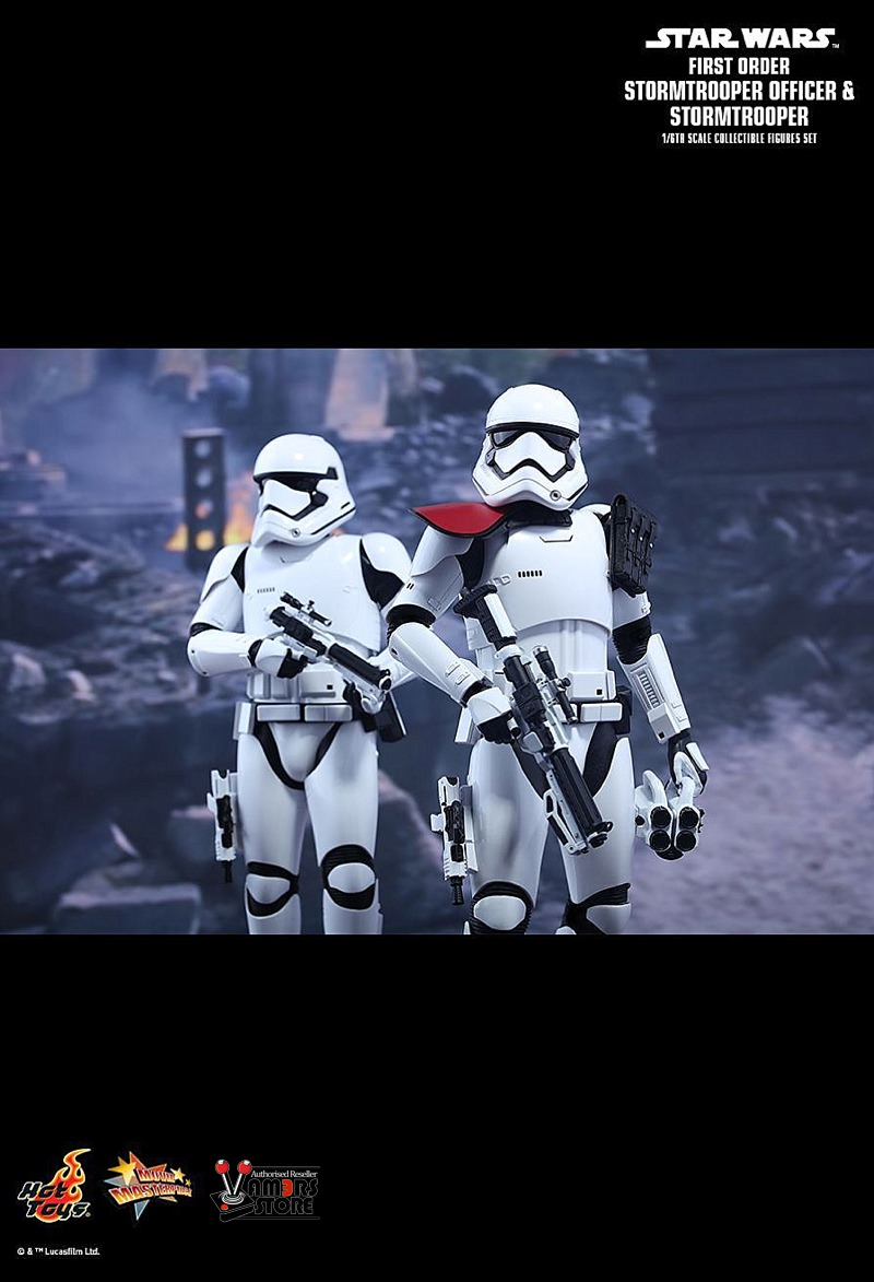 hot toys star wars first order stormtrooper officer vamers store. Black Bedroom Furniture Sets. Home Design Ideas